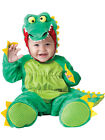 Baby Boys Girls Green Crocodile Dinosaur Halloween Fancy Dress Costume Outfit