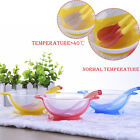 Baby Learning Dishes With Suction Cup Assist Food Bowl Temperature Sensing Spoon