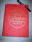 Used Merriam Webster's DICTIONARY, 10TH EDITION, Hardbound, indexed, w/warranty