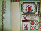 Hunkydory Adorable Scorable Toppers Vintage Christmas +2 A4 Card Blanks + 2 Envs