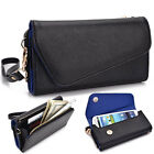 Fad Bicast Leather Protective Wallet Case Clutch Cover for Smart-Phones MLUB17