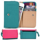 Two-Tone Protective Wallet Case Clutch Cover for Smart-Phones ESAMMT-4