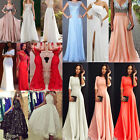 Sexy Womens Formal Evening Ball Gown Party Prom Bridesmaid Maix Dress Size 6-18