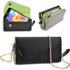 Womens PU Leather Wallet Case Cover & Crossbody Clutch for Smart-Phones MLUB2