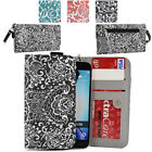 Ladie's Convertible Paisley Smartphone Wallet Cover & Wristlet Clutch ESMLP2-16