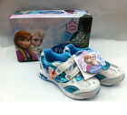 Disney Frozen Elsa Anna LIGHT-UP Shoes sneakers Toddler/Youth 6 7 8 9 10 11 12