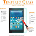 Premium Tempered Glass Film Screen Protector for Amazon Kindle Fire HD 8 / 10