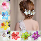2 pcs barrette flower hairband bridal bohemia
