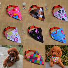 1pcs Colorful Collar Dog Puppy Pet Cat Collars NeckLace Scarf Bandana