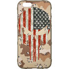 Magpul Field Case for the iPhone 6,6s,or 6 PLUS.Custom Desert Camo USA Punisher