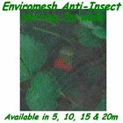Enviromesh Insect mesh netting 2m cabbage fly caterpillar pea moth cutworm leaf