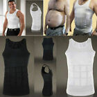 Men's Body Slimming Vest-Waist Belly Chest Shaper Underwear Shapewear T-Shirt