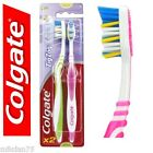 2 x Colgate Zig Zag Medium Toothbrush Flexible Neck