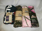 Realtree APG & Mossy Oak Adult Beach Towel - You Choose - Flag Logo Pink & Camo