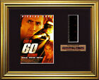 GONE IN 60 SECONDS   Nicolas Cage - Angelina Jolie  FRAMED MOVIE FILMCELLS