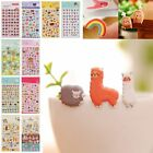 Kids DIY 3D Puffy Sticker Calendar Diary Book Phone Scrapbook Label Decoration