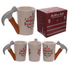 Pliers or Hammer Shaped Handle Mugs with Builder Decal,Ideal Prezy For Dad. BN