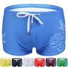 SUMMER New Sexy Men Swimwear Boxer Briefs Swimming Swim Trunks Board Shorts S-XL
