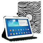 """360 Rotating PU Leather Case Cover Samsung Galaxy Tab E 8"""" T377 T375 T377P T377R"""