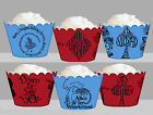 Alice In Wonderland Rabbit Birthday Party Wraps Cupcake Cases Wrappers Cup Cake