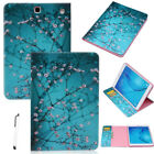 "For Samsung Galaxy Tab E A S2 7"" 8"" 9.6"" 9.7"" T280 T350 T550 Leather Case Cover"