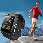 Sport Smart Wrist Watch Bluetooth For iPhone IOS Android Phone Samsung