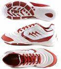AGLA PROFESSIONAL NEW MATCH INDOOR WHITE/RED scarpe calcetto futsal anti-shock
