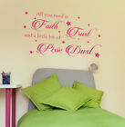 All you need is pixie dust vinyl wall art sticker decal
