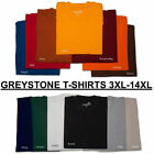 BIG & TALL Greystone T-Shirts HEAVY DUTY  5X 6X 7X 8X 10X 12X 14X (BEST PRICES)