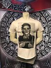 Elvis Presley Busted T-Shirt Rock'n roll Guitar Music Mic Concert Punk 2019 image
