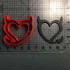 Devil Heart Cookie Cutter