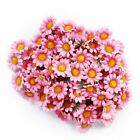 100pcs Artificial Daisy Flowers Heads for Wedding Party N3