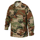 Tru-Spec BDU Shirt 100% Cotton Rip-Stop WOODLAND