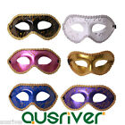 6Colour Half Face Party Mask Cosplay Costume Masquerader Ball Halloween Princess