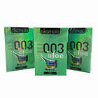 Okamoto 003 ALOE condoms *With Natural Water-based lubricant* Retail box of 4PCS