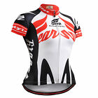 Fixgear womens cycling team jersey bike clothing tight shortsleeve shirts S~2XL