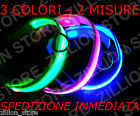 Collare Per Cani Luminoso Robusto LED Blu Bianco Rosa Taglie S L in Nylon CR2032