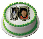 Used, Star Wars edible image R2D2 & C3PO photo frame cake topper icing #18685 for sale  Forest Grove