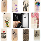 Fashion Soft Silicone Pattern Case Cover Skin For Apple iPhone 5s 6 6s Plus