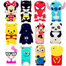 3D Cute Cartoon Soft Silicone Gel Rubber Cover Case Skin For iPod Touch 4/5/6