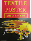 IRON MAIDEN A7X 5FDP BULLET GREEN DAY METALLICA MANSON TEXTILE POSTERS  FLAGS