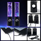 LED Dancing Water Speakers Music Fountain Light for iPhone iPad Computer Laptop