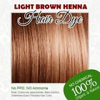 Light Brown Henna Hair Dye - 100% Organic and Chemical free Henna for Hair Color
