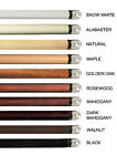 """3 Pack of Wooden Replacement Wand for Blinds. 12 colors 4 sizes: 24"""" 30"""" 36"""" 48"""""""