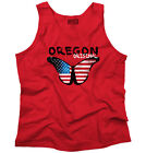 Oregon State Americana Patriotic Butterfly Cute Gift Ideas Tank Top Shirt