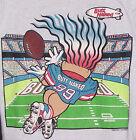 Vintage 1993 BUTT NAKED Bowl Troll FOOTBALL T-Shirt GRAY NWT NEW Old Stock