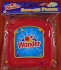 Wonder Bread Sandwich Packer/ Container, Red, Blue, White, Yellow. Ships Free !