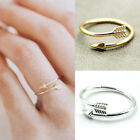Adjustable Arrow Ring Sterling Silver Sideways Arrow Bow Archery Jewelry Ca