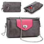 Womens Fashion Smart-Phone Wallet Case Cover & Crossbody Purse EI65-7