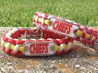 Kansas City Chiefs Paracord Bracelet w/ NFL Dog Tag and Metal Buckle. AWESOME! on eBay